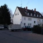Dacharbeiten - Beginn der Gerüstarbeiten