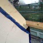 Dach - Seitenansicht Dämmung